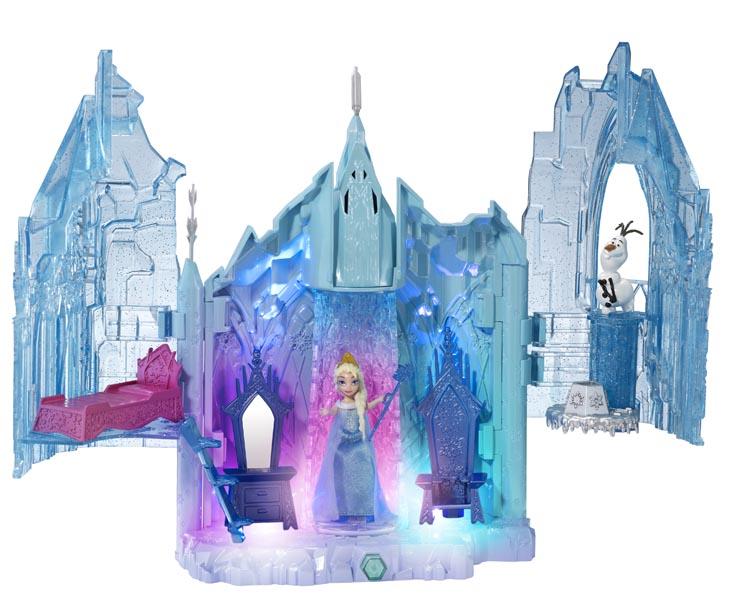Pics Photos Disney Frozen Small Doll Anna Castle Playset By Mattel