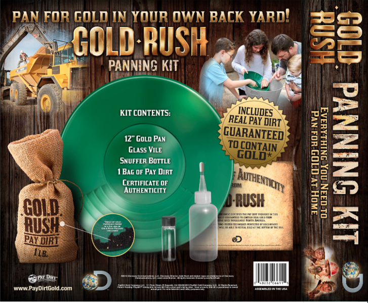 Panning Gold Rush Gold Rush Panning Kit 2013
