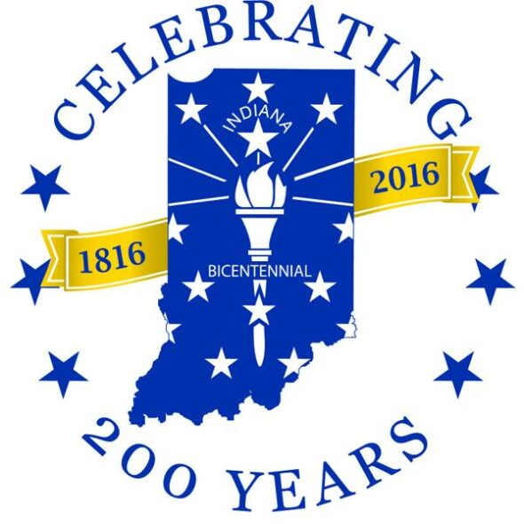 Indiana 2016 Bicentennial Logo