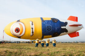 UNIVERSAL PICTURES DESPICABLE ME BLIMP